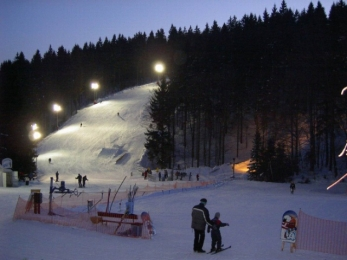 Skiing in Eastern Bohemia