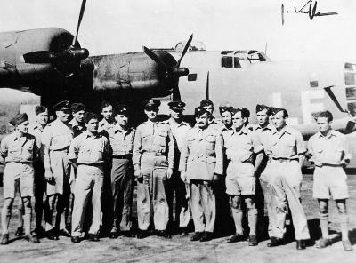 311th squadron – Jiří is the third from the right