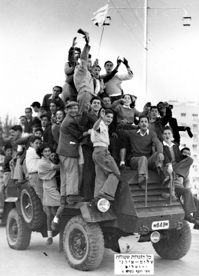 After the liberation of the Bergen-Belsen camp in