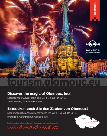 Discover the magie of Olomouc, too!
