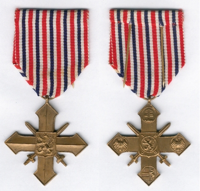 Robert was awarded by Military Medal of Merit Second Class in 1946