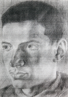Robert's portrait from Buchewaldu from Italian