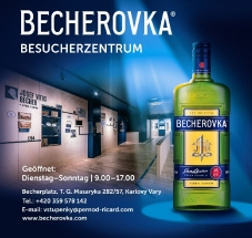 Becherovka Besucherzentrum