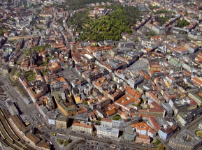Brno and Its Surrounding from the Bird's Eye View