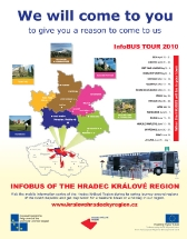 We will come to you - Infobus of the Hradec Králové Region