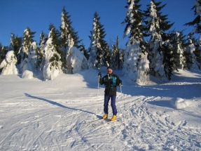 On Cross-country Skis in the Orlicko Region